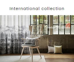International collection カーテン FISBA フィスバ
